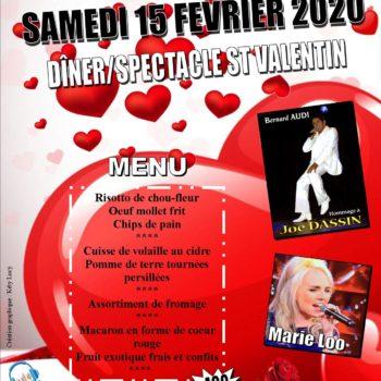 Soirée romantique pour la Saint Valentin à Legé (44)