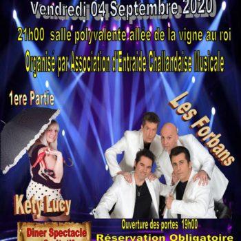 Concert Kety Lucy et les Forbans à Commequiers le 4 septembre 2020